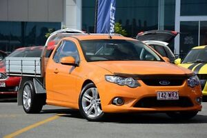 2008 Ford Falcon FG XR6 Ute Super Cab Orange 5 Speed Sports Automatic Utility Wavell Heights Brisbane North East Preview
