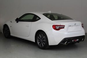 2016 Toyota 86 ZN6 MY15 GT White Liquid 6 Speed Manual Coupe