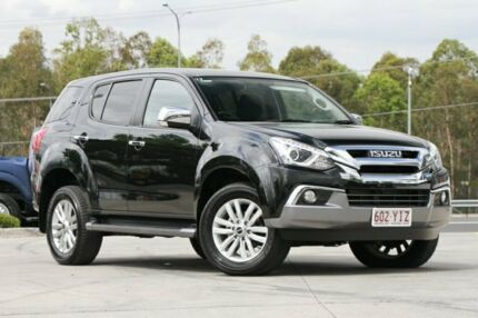 2017 Isuzu MU-X MY17 LS-U Rev-Tronic 4x2 Black 6 Speed Sports Automatic Wagon Springwood Logan Area Preview
