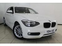 2014 14 BMW 1 SERIES 1.6 116D EFFICIENTDYNAMICS 5DR 114 BHP DIESEL