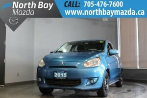 2015 Mitsubishi Mirage SE Automatic with Clean CarProof!