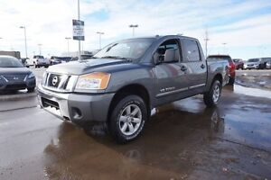 2013 Nissan Titan 4X4 CREWCAB SV Accident Free,  Back-up Cam,  B