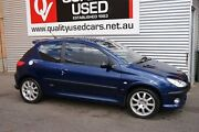 2002 Peugeot 206 GTI Rallye Blue 5 Speed Manual Hatchback Blair Athol Port Adelaide Area Preview