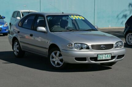 2001 Toyota Corolla ZZE122R Ascent Silver 4 Speed Automatic Hatchback Southport Gold Coast City Preview