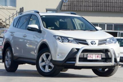 2013 Toyota RAV4 ALA49R Cruiser AWD White 6 Speed Auto Seq Sportshift Wagon Tweed Heads South Tweed Heads Area Preview