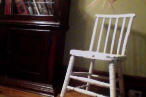 Antique small chair -  original paint $25