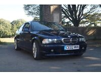 BMW 325i 6 CYLINDER COUPE MOT to May 2019 Manual, Climate Control, Well Looked After
