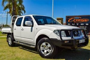 2011 Nissan Navara D40 ST (4x4) White 6 Speed Manual Dual Cab Pick-up Greenfields Mandurah Area Preview