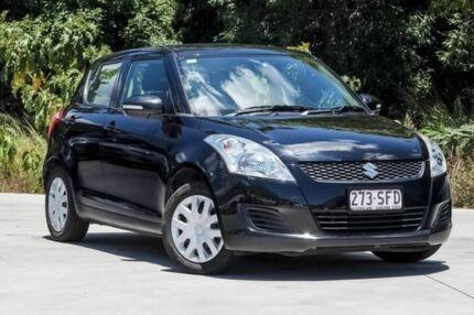 2012 Suzuki Swift FZ GL Black 5 Speed Manual Hatchback Aspley Brisbane North East Preview