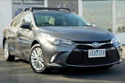 2015 Toyota Camry AVV50R Atara SL Grey 1 Speed Constant Variable Sedan Hybrid Upper Ferntree Gully Knox Area Preview