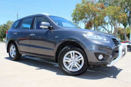 2010 Hyundai Santa Fe CM MY10 Elite Nma/cloth 6 Speed Sports Automatic Wagon