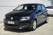 2012 Volkswagen Polo 6R MY12.5 77TSI DSG Comfortline Black 7 Speed Sports Automatic Dual Clutch Thorngate Prospect Area Preview