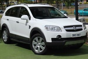 2009 Holden Captiva CG MY10 LX AWD White 5 Speed Sports Automatic Wagon Berwick Casey Area Preview