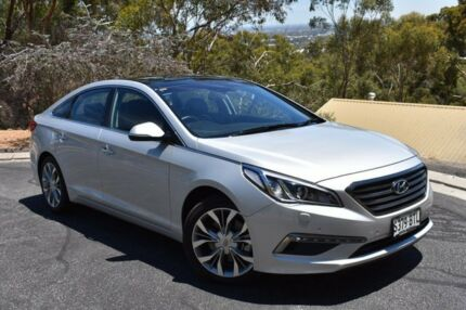 2016 Hyundai Sonata LF3 MY17 Premium Silver 6 Speed Sports Automatic Sedan St Marys Mitcham Area Preview