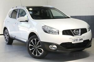 2012 Nissan Dualis J10W Series 3 MY12 Ti-L Hatch X-tronic 2WD White 6 Speed Constant Variable Nailsworth Prospect Area Preview