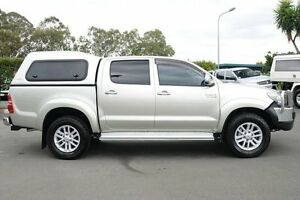 2012 Toyota Hilux KUN26R MY12 SR5 Double Cab Gold 5 Speed Manual Utility Acacia Ridge Brisbane South West Preview
