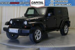 2013 Jeep Wrangler Unlimited Sahara Convertible