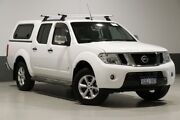 2014 Nissan Navara D40 MY12 ST-X (4x4) White 7 Speed Automatic Dual Cab Pick-up Bentley Canning Area Preview