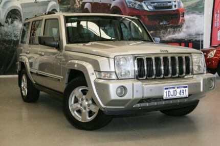 2006 Jeep Commander XH Limited Silver 5 Speed Sports Automatic Wagon