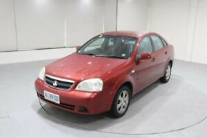 2008 Holden Viva JF MY08 Red 4 Speed Automatic Sedan Invermay Launceston Area Preview