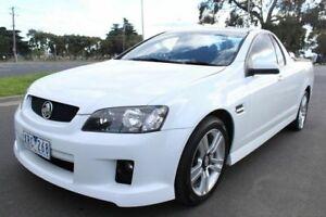 2010 Holden Ute VE MY10 SV6 White 6 Speed Manual Utility