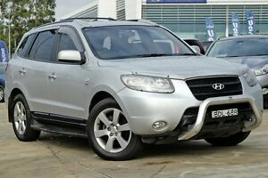 2007 Hyundai Santa Fe CM MY08 Elite Silver 5 Speed Sports Automatic Wagon Baulkham Hills The Hills District Preview