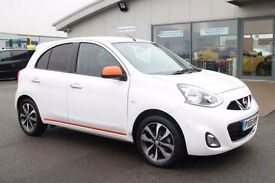 NISSAN MICRA 1.2 N-TEC DIG-S 5d 97 BHP - 360 SPIN ON WEBSITE (white) 2015