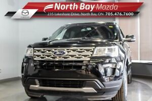 2018 Ford Explorer XLT 4WD with Heated Seats, Bluetooth, Clean C