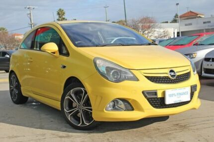 2013 Opel Corsa CO OPC Yellow 6 Speed Manual Hatchback Victoria Park Victoria Park Area Preview