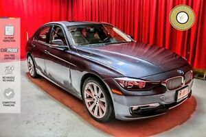 2013 BMW 3 Series SUNROOF! LEATHER! LOW KM!