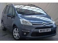 2011 Citroen C4 Picasso 1.6 GRAND EXCLUSIVE HDI EGS 5d AUTO 110 BHP Diesel grey