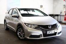 2013 Honda Civic 9th Gen MY13 VTi-S Silver 5 Speed Sports Automatic Hatchback Frankston Frankston Area Preview