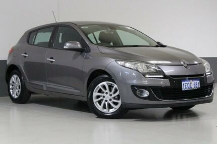2012 Renault Megane X32 Dynamique 1.5DCI Grey 6 Speed Auto Dual Clutch Hatchback Bentley Canning Area Preview