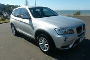 2013 BMW X3 F25 MY1112 xDrive20d Steptronic Silver 8 Speed Automatic Wagon South Gladstone Gladstone City Preview
