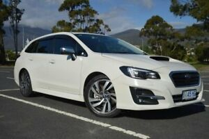 2017 Subaru Levorg V1 MY18 1.6 GT CVT AWD Premium White 6 Speed Constant Variable Wagon Derwent Park Glenorchy Area Preview