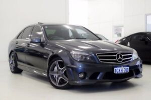 2010 Mercedes-Benz C63 W204 MY11 AMG Edition 63 Grey 7 Speed Sports Automatic Sedan Myaree Melville Area Preview