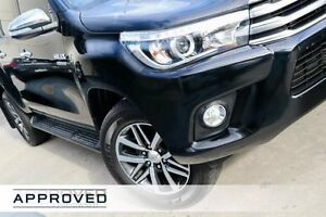 2015 Toyota Hilux GUN126R SR5 Double Cab Black 6 Speed Sports Automatic Utility Brookvale Manly Area Preview