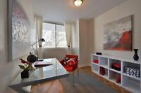 Enjoy The Views In Your 1½ on Ave Des Pins!