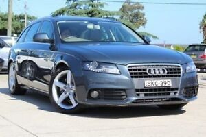 2008 Audi A4 B8 (8K) 2.0 TDI Avant Grey CVT Multitronic Wagon Belmore Canterbury Area Preview