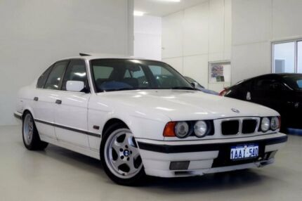 1993 BMW 540i E34 White 5 Speed Automatic Sedan Myaree Melville Area Preview