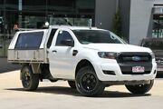 2013 Ford Ranger PX XL Double Cab 4x2 Hi-Rider White 6 Speed Sports Automatic Utility Moorooka Brisbane South West Preview