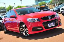 2013 Holden Commodore VF MY14 SV6 Red 6 Speed Sports Automatic Sedan Glendalough Stirling Area Preview
