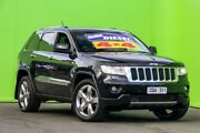2013 Jeep Grand Cherokee WK MY2013 Limited Black 5 Speed Sports Automatic Wagon Ringwood East Maroondah Area Preview