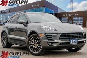 2018 Porsche Macan Sport Edition LEATHER | NAV | BACKUP CAM & MO