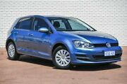 2014 Volkswagen Golf VII MY14 90TSI DSG Blue 7 Speed Sports Automatic Dual Clutch Hatchback Bayswater Bayswater Area Preview