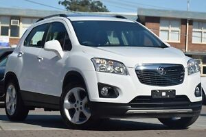 2014 Holden Trax TJ MY15 LTZ White 6 Speed Automatic Wagon Waitara Hornsby Area Preview