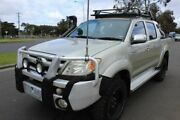 2005 Toyota Hilux GGN25R MY05 SR Silver 5 Speed Manual Utility West Footscray Maribyrnong Area Preview