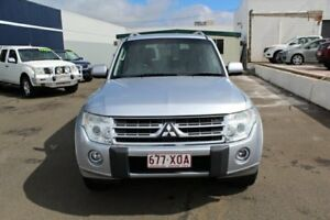 2010 Mitsubishi Pajero NT MY10 GLS Silver 5 Speed Sports Automatic Wagon