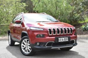 2014 Jeep Cherokee KL Limited Red 9 Speed Sports Automatic Wagon St Marys Mitcham Area Preview