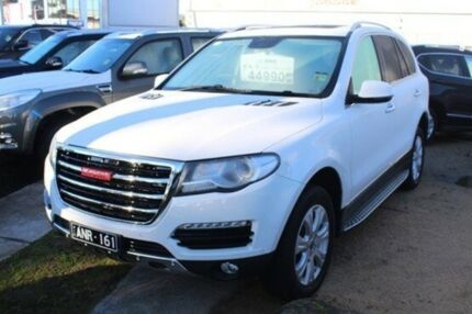 2016 Haval H8 Premium 2WD White 6 Speed Sports Automatic Wagon